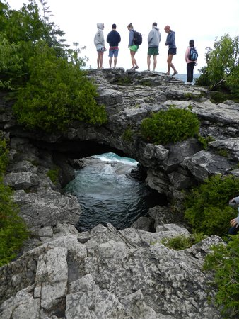 The Grotto: Natural Arch