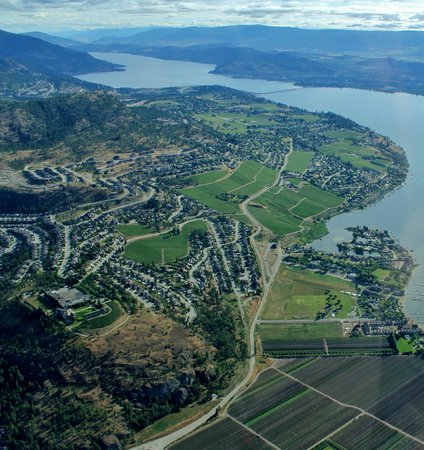 West Kelowna, Canadá: Quail's Gate and Mission Hill
