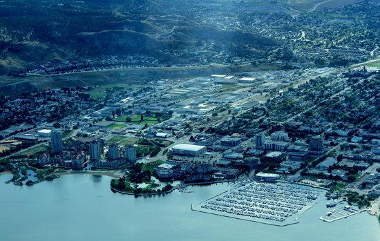 West Kelowna, Canadá: Elevated perspective