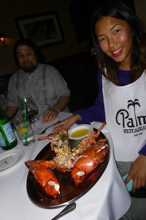 The Palm Beverly Hills: Still another 3 lb. lobster