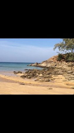 Pullman Phuket Arcadia Naithon Beach: beach beside hotel