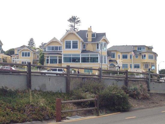 View of Seven Gables Inn from across the street