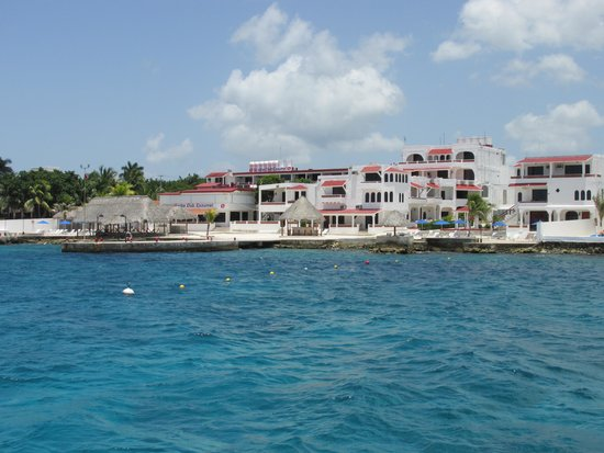 Scuba Club Cozumel: Returning from our morning dive