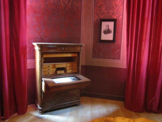 WiMu - Museo del Vino a Barolo : la stanza di Silvio Pellico