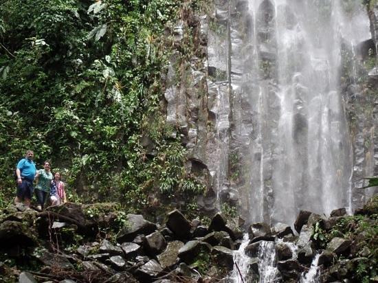 Catarata La Fortuna: a refrescarse