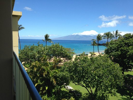 Kaanapali Beach Hotel: View from room 572