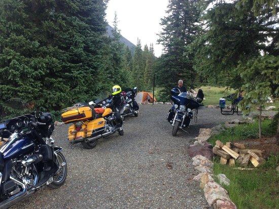 Molas Pass: Our campsite at Molas Lake