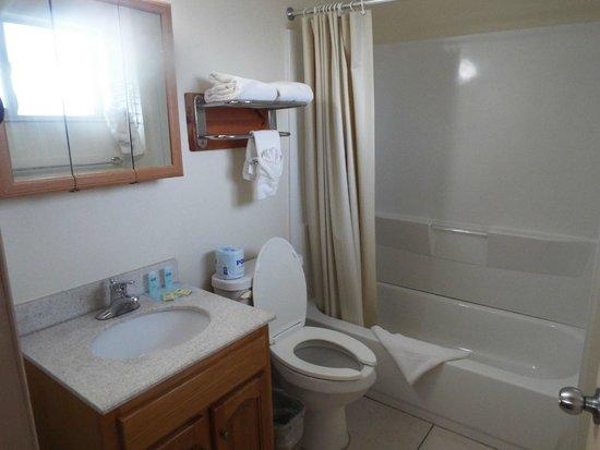 Rodeway Inn: banheiro