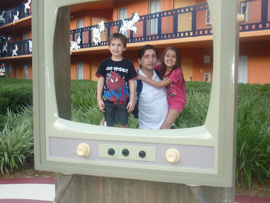 Disney's All-Star Movies Resort: Foto en el Hotel