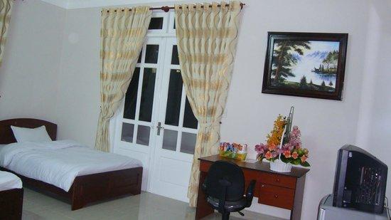 Villa Da Lat Hoang Kim : View from the Executive room