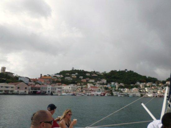 Sandals LaSource Grenada Resort and Spa: GRENADA FROM THE SUNSET CATAMARAN CRUISE