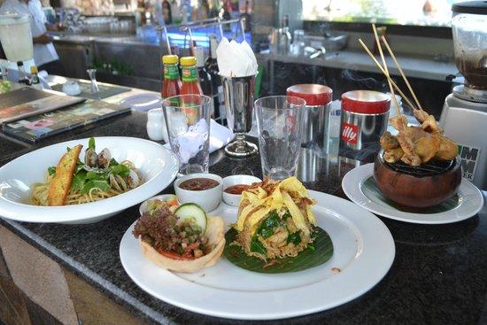 Sheraton Senggigi Beach Resort: good lunch