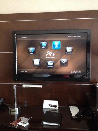 ARIA Resort & Casino: Interactive TV