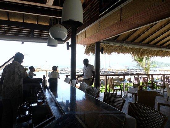 Sandals LaSource Grenada Resort and Spa: NEPTUNE'S RESTAURANT
