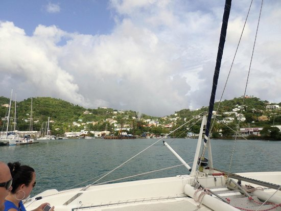 Sandals LaSource Grenada Resort and Spa: GRENADA FROM THE CRUISE