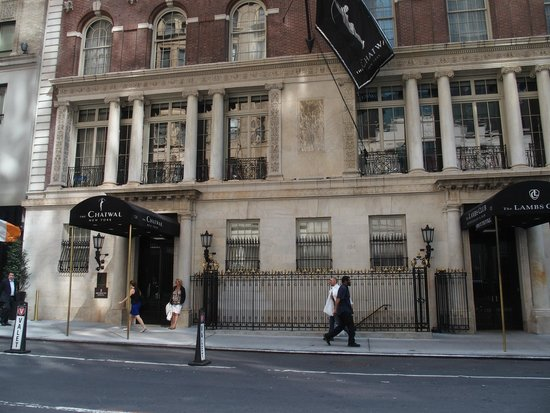 The Chatwal, A Luxury Collection Hotel, New York: Exterior view