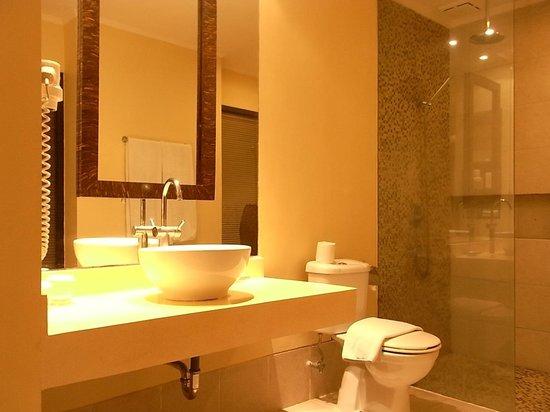 Mercure Resort Sanur : 洗面室、シャワーの湯量はOK