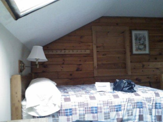 Northern Outdoors Adventure Resort : 1 bed area in the lodge room