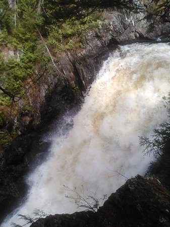 Northern Outdoors Adventure Resort: Moxie falls