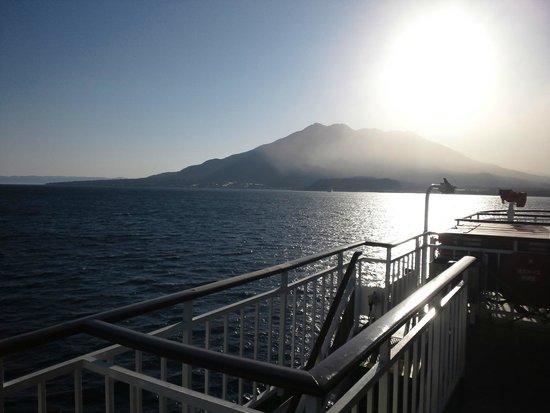 Sakurajima: フェリーより2