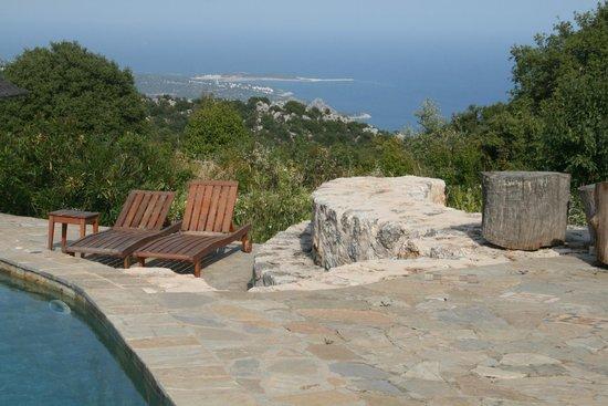 Hoyran Wedre Country Houses: Hoyran Wedre pool overlooking the Med