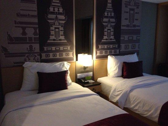 Hotel Horison Seminyak: Twin deluxe room