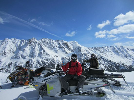 Kieper Guides LLC: Vail Area, great spring conditions.
