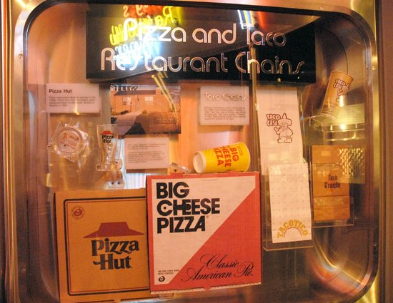 Kansas Museum of History: Pizza Hut started in Kansas.  Who knew?