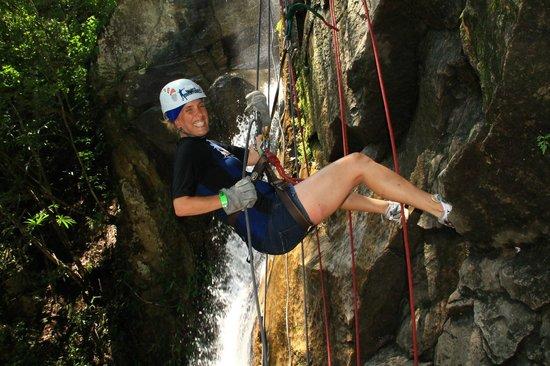 Vallarta Adventures: Repelling...