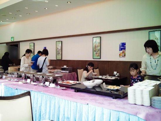 Mielparque Yokohama : Ресторан. Завтрак.