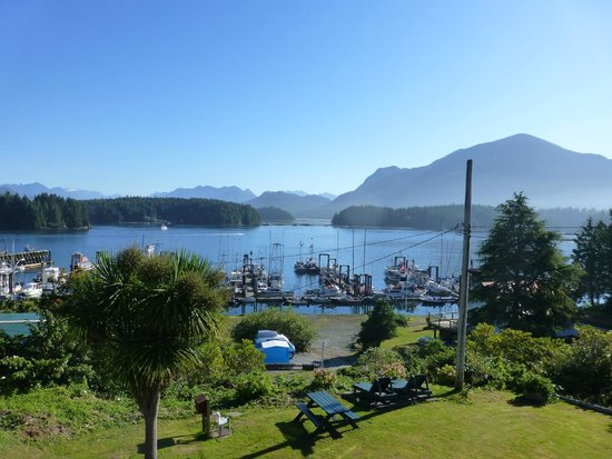 Tofino Motel HarbourView: View from room 203