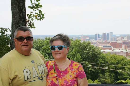 Vulcan Park and Museum : great view of Birmingham