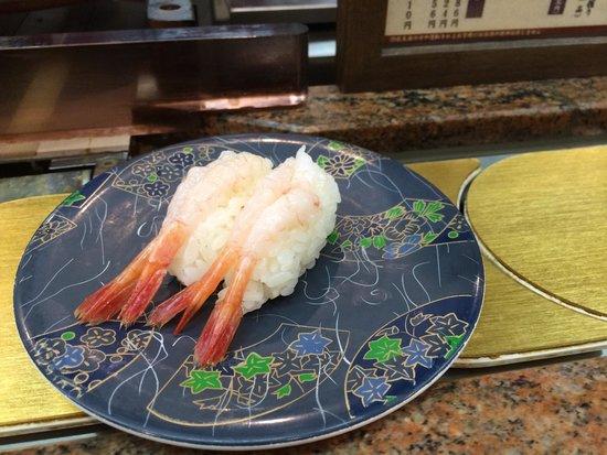 Raw Shrimp Sushi Picture Of Nemuro Hanamaru Jr Tower Stellar Place
