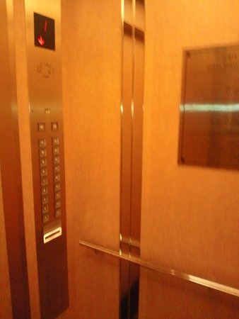Sapporo Excel Hotel Tokyu: エレベーター