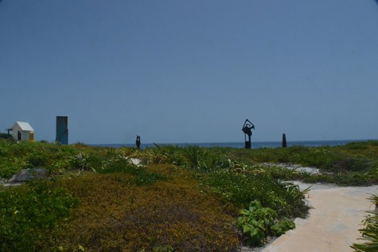 Punta Sur: A little known fact is that the Mayans made sculptures from Erector Sets (tm)...