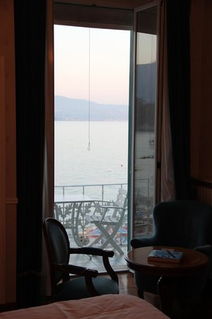 Grand Hotel Miramare: The seaview room