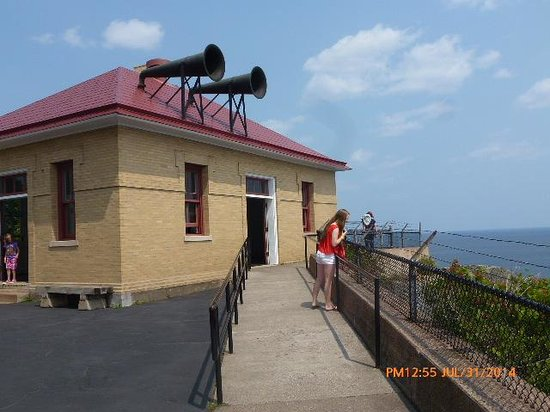 Split Rock Lighthouse: The Fog Horns