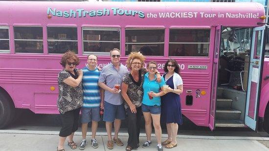 NashTrash Tours: Time of our lives! Thanks ladies!