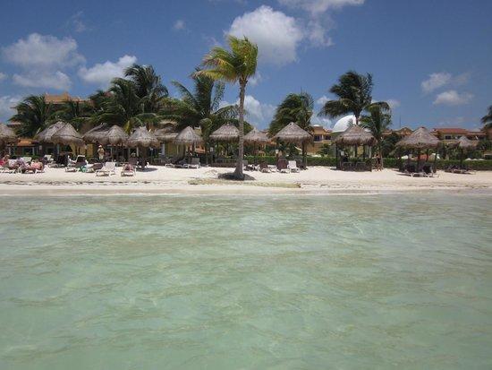 Secrets Capri Riviera Cancun: View from ocean