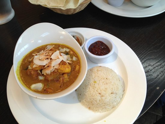 Noel Arms Hotel: Indian curry by the hotel's renowned chef