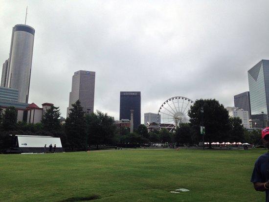 Centennial Olympic Park : Panorama