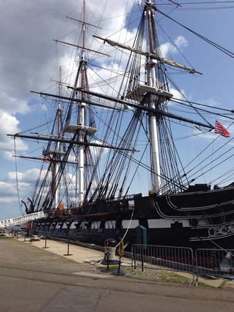 USS Constitution Museum : Amazing ship