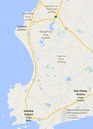 Map to Sattahip