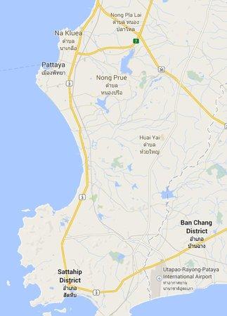Саттахип, Таиланд: Map to Sattahip