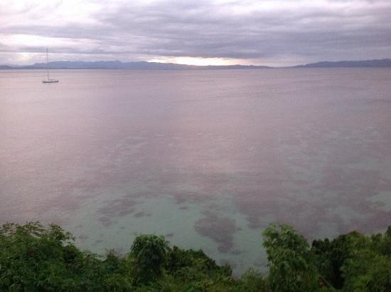 Taveuni Island Resort & Spa : view on cloudy day