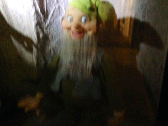 Josephine Tussauds Wax Museum : One of Snow White's dwarves.....