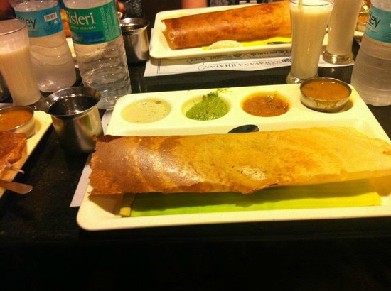 Saravana Bhavan: Delicious dosa!