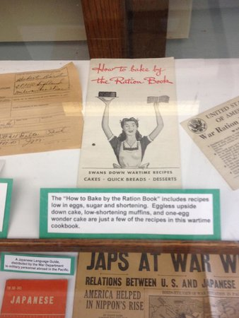 Delta County Historical Museum : Exhibit - Loved this Rations cook book