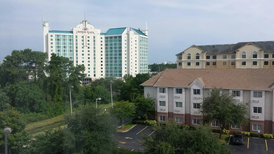 Comfort Suites Downtown: View from room