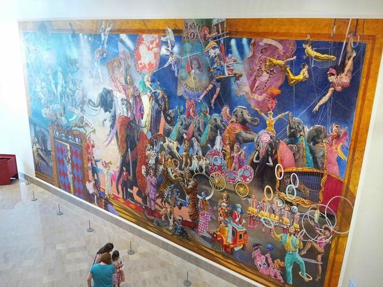 The Ringling: Wall in Circus Museum